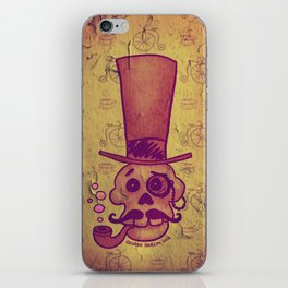 Skull Dandy iPhone Skin