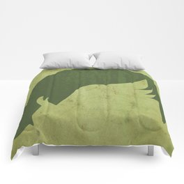 Luke Skywalker Print - LEFT Comforters