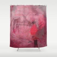 fez Shower Curtains featuring O Cravo e a Rosa by Fernando Vieira