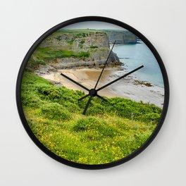 Fall Bay, Rhossili, Wales Wall Clock