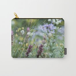 Wildflowers on the Mountain Carry-All Pouch