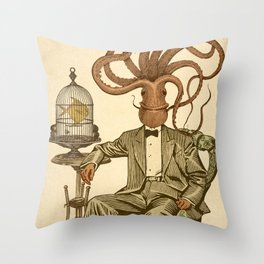 Haircut number 8 Throw Pillow