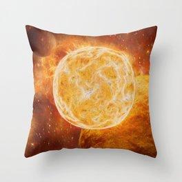 Cosmic Giant Throw Pillow