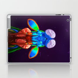 Intense Mantis Shrimp Laptop & iPad Skin