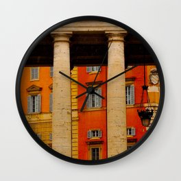 Neighbors to The Pope! Wall Clock