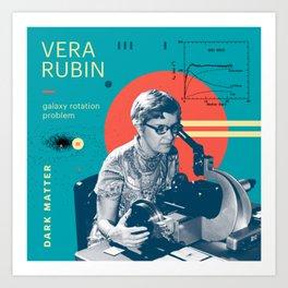 Beyond Curie: Vera Rubin Art Print