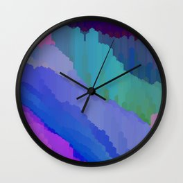 Abstact waterfall Wall Clock