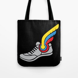 Running Shoe Gift: Winged Sneaker I Coach Tote Bag