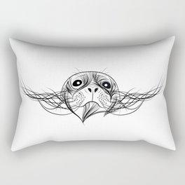 Animal print Seal - zeehond - black and white Rectangular Pillow