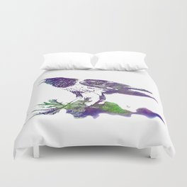 African Crow - Ria Loader Duvet Cover