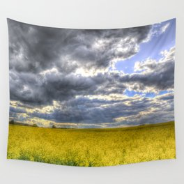 The Storm Arrives Wall Tapestry