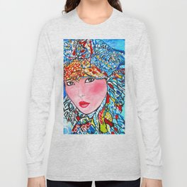 LUNA #society6 #decor #buyart My artwork is featured in MagCloud, Pink Panther Magazine, issue 25 Long Sleeve T-shirt