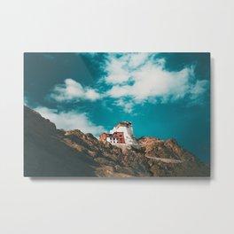 Ladakh Monastery Metal Print