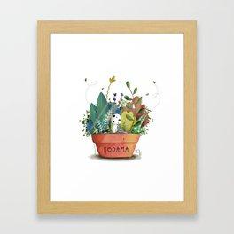 Kodama Framed Art Print