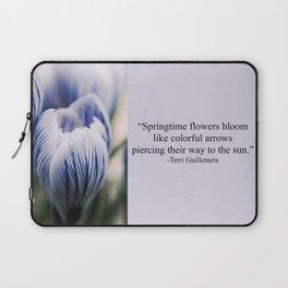 Spring Crocus Laptop Sleeve