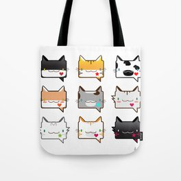 Convo Cats! Tote Bag