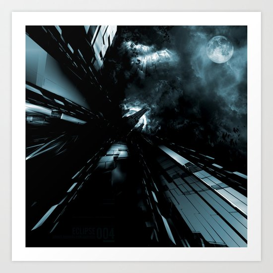 Daydreams Like Mainframes 006: Eclipse Art Print