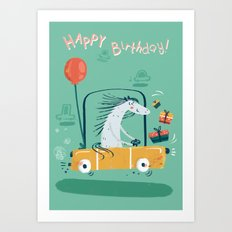 Happy birthday! Art Print