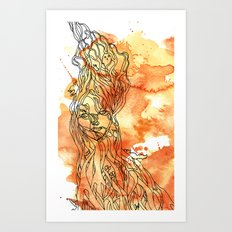 Woodland Whimsy Art Print