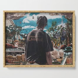 Astroworld 2019 Serving Tray