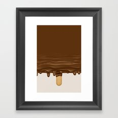 Melted Ice Cream Framed Art Print