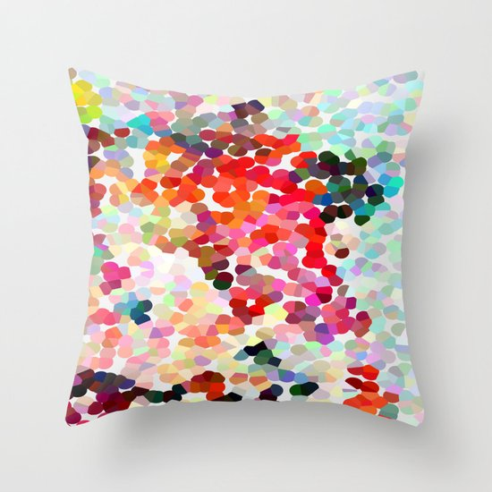Please Please Please Throw Pillow By Three Of The