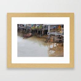 When The Rain Is Over Framed Art Print