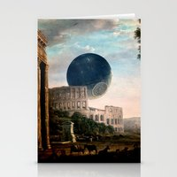 death star Stationery Cards featuring Death Star by DIVIDUS