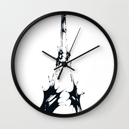 Eiffel-Ink Wall Clock