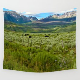 Colorado cattle ranch Wall Tapestry