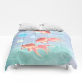 Around the bowl in Eighty seconds Comforters