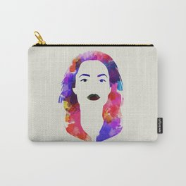 ANGELINA Watercolor Dig Carry-All Pouch