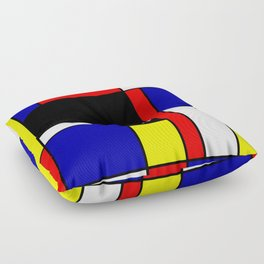 Mondrian #70 Floor Pillow
