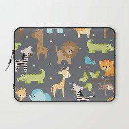 Jungle Animals Laptop Sleeve