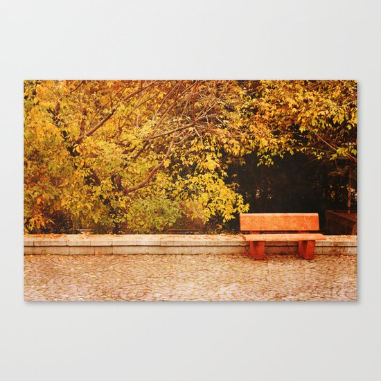 Perfect Spot Canvas Print