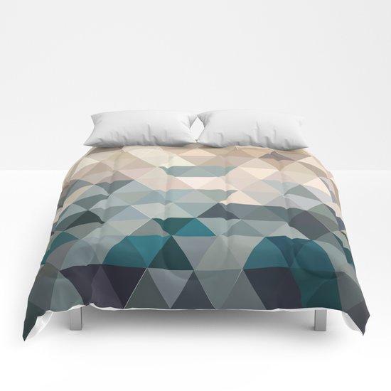 Green Is On Return Comforters