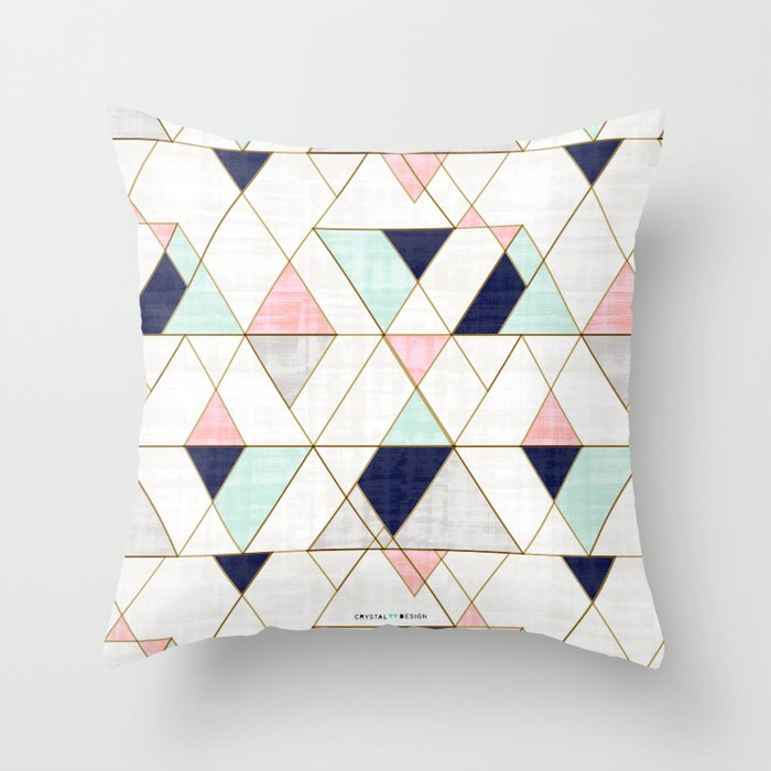 pillows by katz throw van product pillow terrazzo confetti stone blush