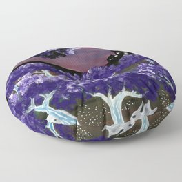 Enchanted Forest 2 Floor Pillow
