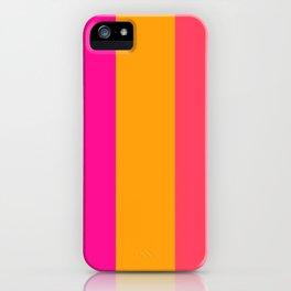 colour pattern iPhone Case