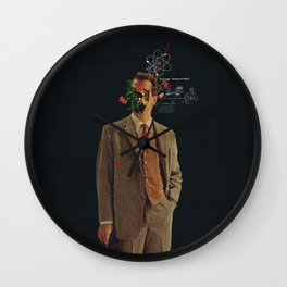 The Energy Vibrations Of Atoms Wall Clock