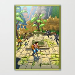 Pixel Art series 7 : Shamballa Canvas Print