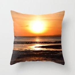Sunset - photo series Throw Pillow