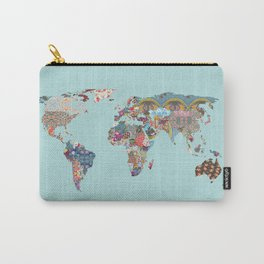 Louis Armstrong Told Us So (teal) Carry-All Pouch