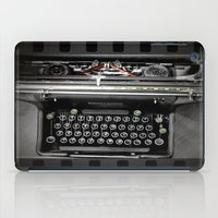 writer iPad Cases featuring The Writer by blueorder Art