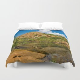 Bell Gorge Duvet Cover