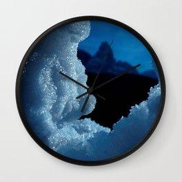 Snowed in #1 #art #society6 Wall Clock