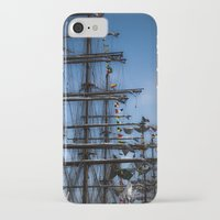 ships iPhone & iPod Cases featuring Tall ships by Stu Naranch