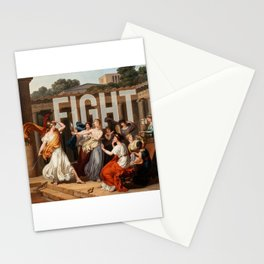 Fight. Stationery Cards