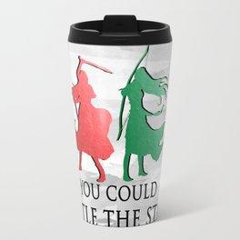 Throne of Glass Watercolour Travel Mug