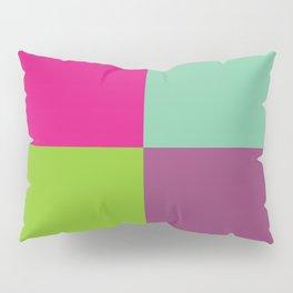 Colorful quarters Pillow Sham